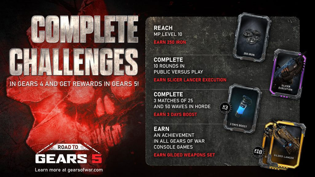 gears of war 4 achievement guide and roadmap