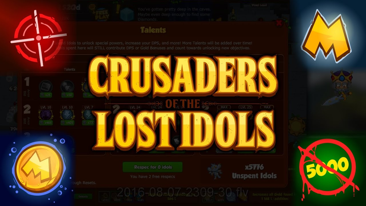 crusaders of the lost idols talents guide