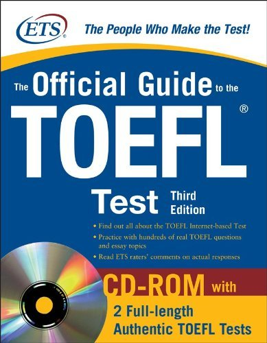 the official guide to the toefl test fourth edition pdf