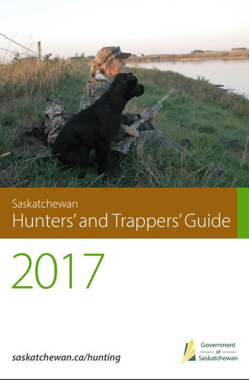 2017 hunting and trapping guide saskatchewan
