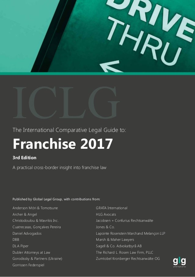 canadian franchise law a practical guide