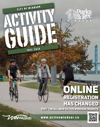 city of windsor activity guide
