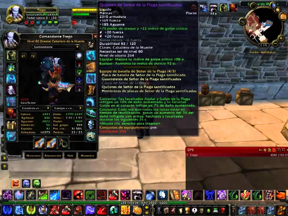 frost dk 3.3 5 pve guide