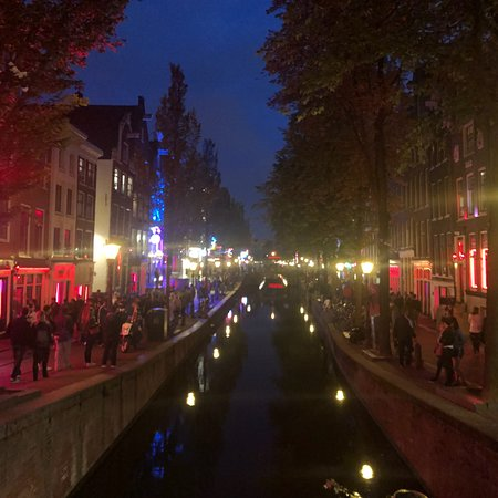 guided tour red light district amsterdam